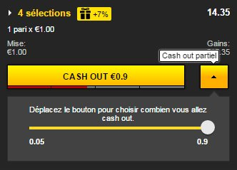 exemple cash out betfirst
